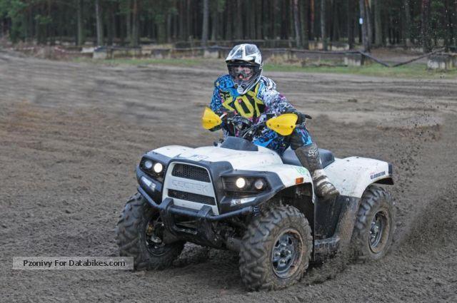 2012 Cectek  Gladiator T6 iX D-LOF action, 3 available Motorcycle Quad photo