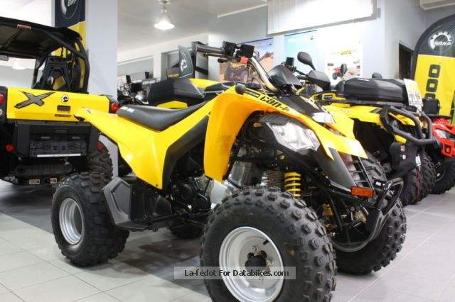 2012 BRP  Can-Am DS 250 NEW Motorcycle Quad photo