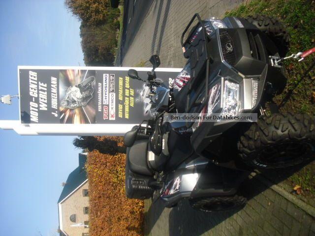 2012 Kymco  MXU 700 EXI LOF Presenters Motorcycle Quad photo