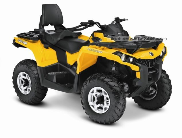 BRP  Can-Am Outlander MAX 800 DPS EC NEW 2012 Quad photo