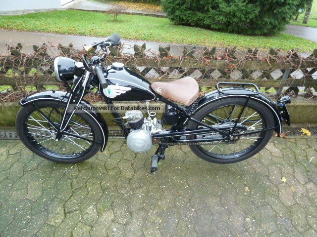 DKW  RT 3 RT100 RT 125 2.5 1939 Vintage, Classic and Old Bikes photo