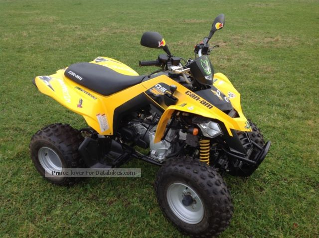 2013 Can Am  ds 250 Motorcycle Quad photo