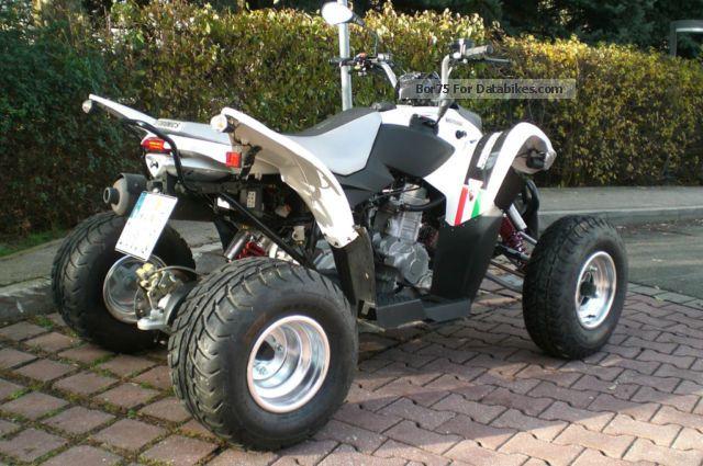 2012 Aeon  Bistrada 3.5 Motorcycle Quad photo