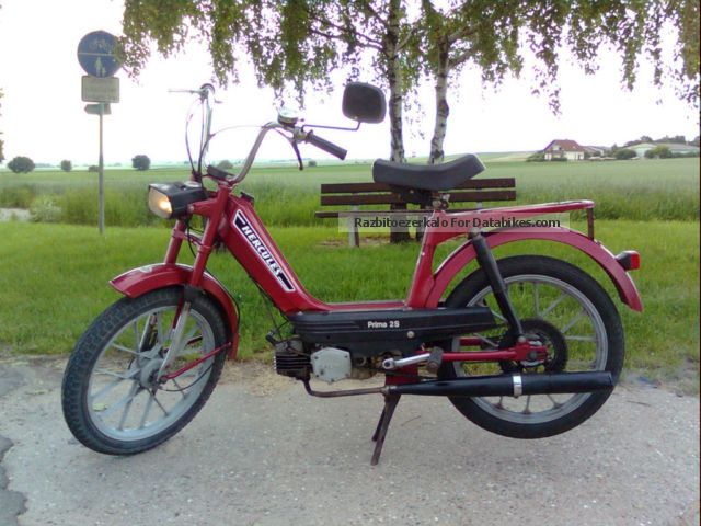 1982 Hercules  PRIMA 2S Motorcycle Motor-assisted Bicycle/Small Moped photo