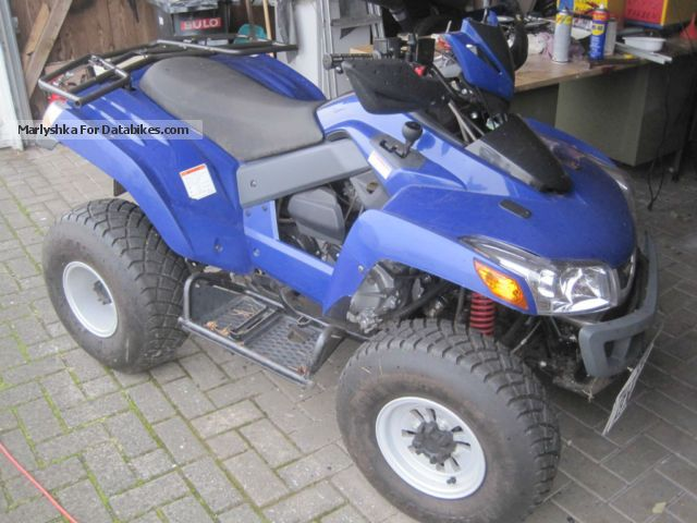 SYM  250 - EZ 2011 - Only 1220 KM - 1.Hand - NP 4000, - 2011 Quad photo