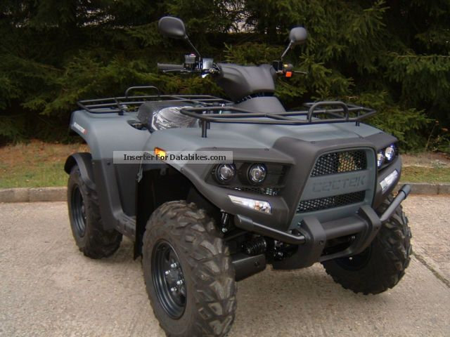 2012 Cectek  Gladiator 500 T5 incl LOF Motorcycle Quad photo