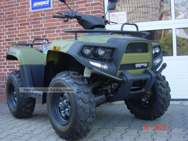 2012 Cectek  Gladiator 500 EFI wheel (open output) Motorcycle Quad photo