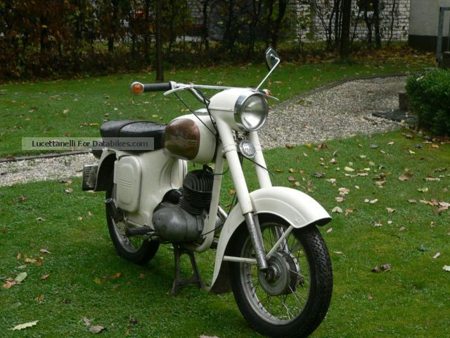 1968 Jawa  CZ 453/03 Motorcycle Lightweight Motorcycle/Motorbike photo