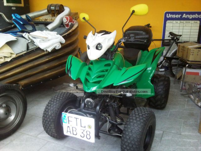 2007 Bashan  150 BS / 2 Street Fighter unique Motorcycle Quad photo