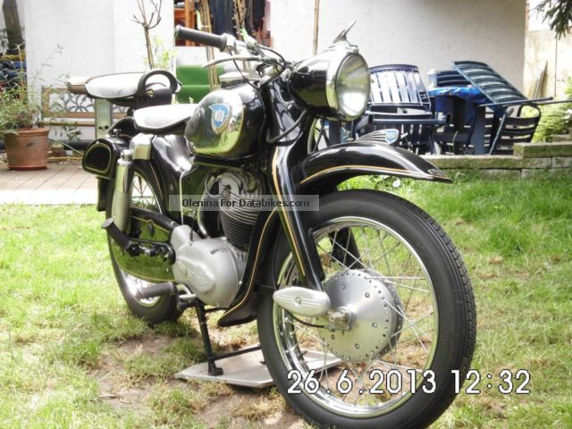 NSU  Super Max 1959 Vintage, Classic and Old Bikes photo