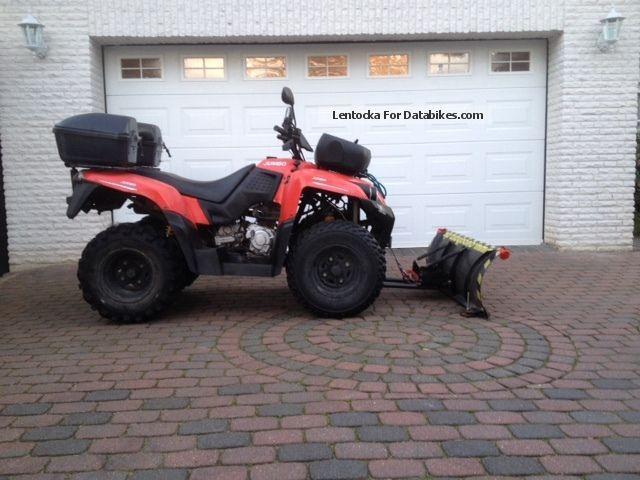 2008 SMC  ATV JUMBO 302 AUT.KARDAN WINCH SCHNEESCHILD Motorcycle Quad photo