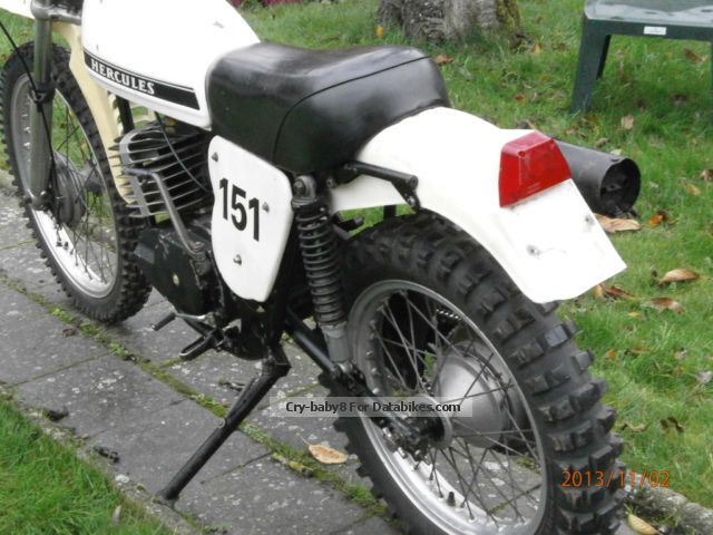 Hercules  ENDURO 7 175GS GANGER 1976 Vintage, Classic and Old Bikes photo