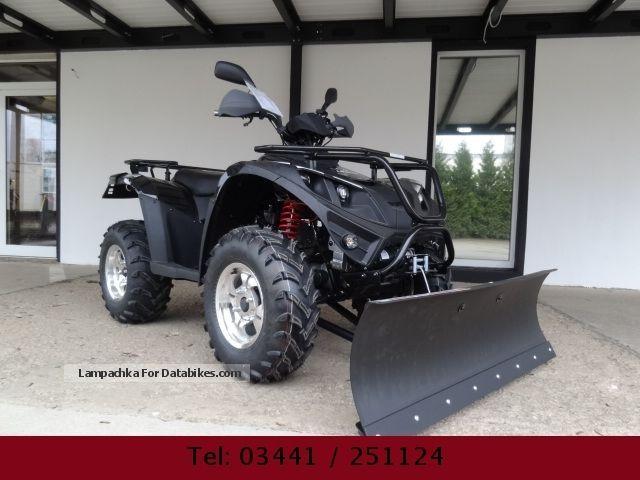 Linhai  ATV 420 LOF incl snow plow 2012 Quad photo