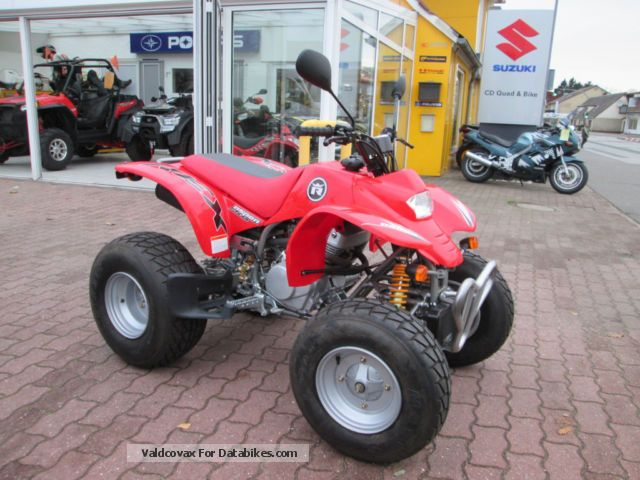 2013 SMC  Barossa CPI Rex 250 Aspen Motorcycle Quad photo