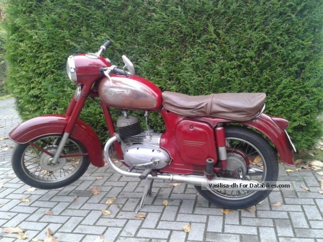 Jawa  CZ 125 1959 1959 Vintage, Classic and Old Bikes photo