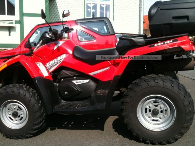 2007 Bombardier  CanAm 650 Max Motorcycle Quad photo
