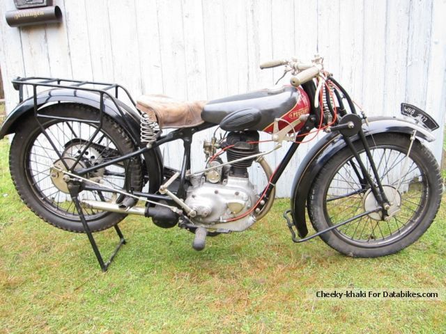 Peugeot  P107 1927 Vintage, Classic and Old Bikes photo