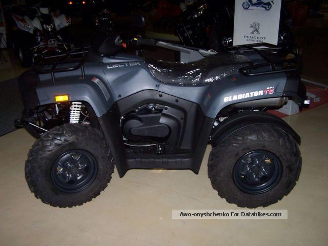 2012 Cectek  Gladiator T6 ix D-LOF EFI Motorcycle Quad photo