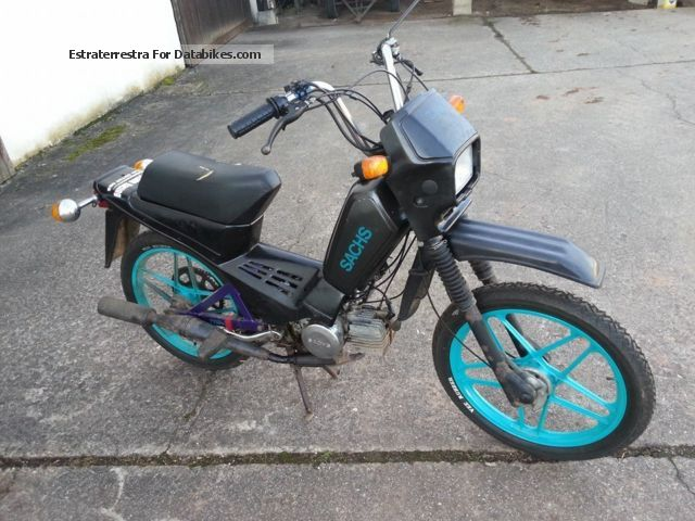 1987 Hercules  MX 1 Motorcycle Motor-assisted Bicycle/Small Moped photo