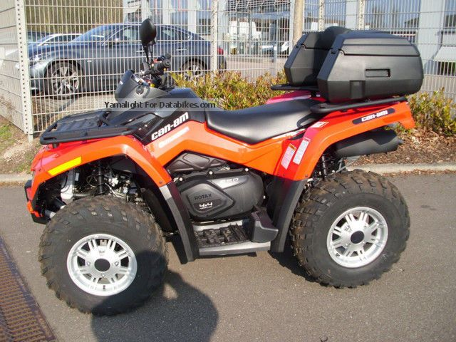 2012 Can Am  Outlander Motorcycle Quad photo