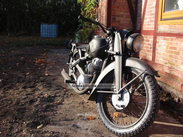 1941 DKW  NZ 350 Motorcycle Naked Bike photo