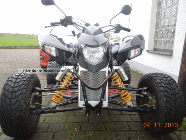 2012 SMC  Trasher Explorer 320 Motorcycle Quad photo