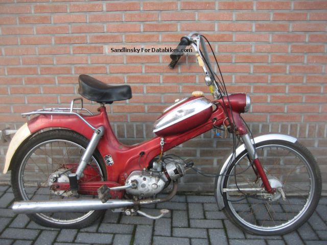 1976 Puch  MV 50 Motorcycle Motor-assisted Bicycle/Small Moped photo