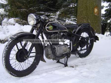 Simson  AWO 425 T 1953 Vintage, Classic and Old Bikes photo