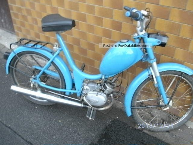 1970 Hercules  MFH 2 course built in 1970 Motorcycle Motor-assisted Bicycle/Small Moped photo