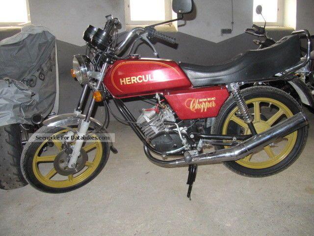 1981 Hercules  Ultra Chopper Motorcycle Lightweight Motorcycle/Motorbike photo