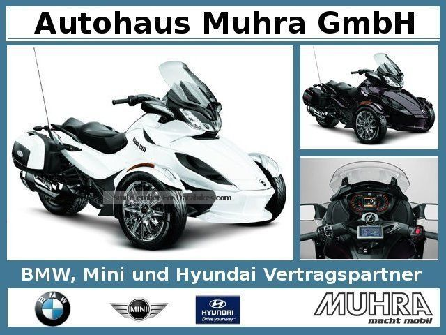 2013 Bombardier  Can Am Spyder ST LTD/Limited/2, 99% Motorcycle Motorcycle photo