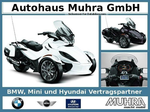 2013 BRP  Can Am Spyder ST LTD/Limited/2, 99% Motorcycle Motorcycle photo