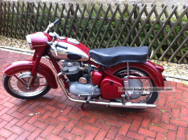 1958 Jawa  500 OHC Motorcycle Motorcycle photo
