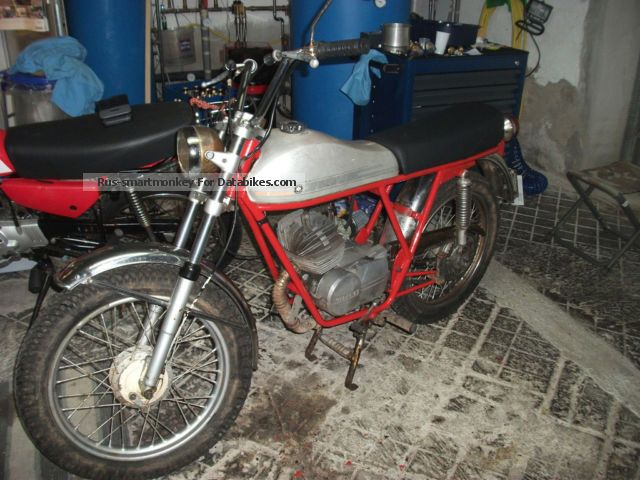 1974 Gilera  50 Touring Motorcycle Motor-assisted Bicycle/Small Moped photo