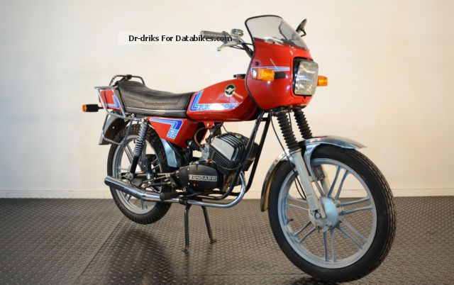 1984 Zundapp Zündapp CS 50 Mokick 448-013