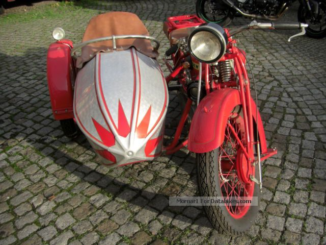 DKW  Z500 sidecar 1927 Vintage, Classic and Old Bikes photo