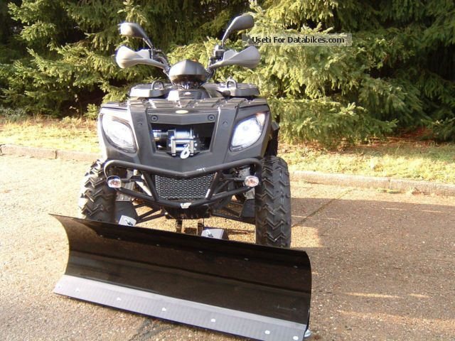 2011 Linhai  320 4x4 with snow blade Motorcycle Quad photo