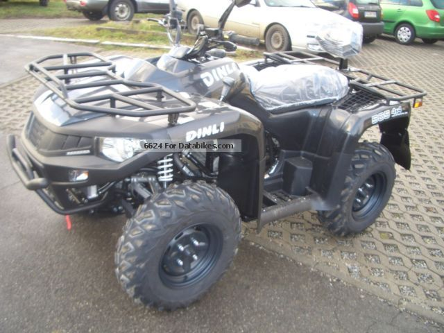 2012 Dinli  565 Centhor LOF 4x4 winter package Motorcycle Quad photo