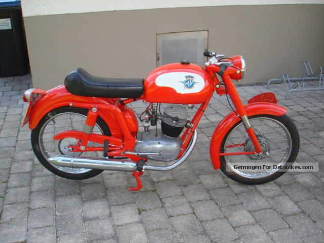 MV Agusta  125TRE 1954 Vintage, Classic and Old Bikes photo