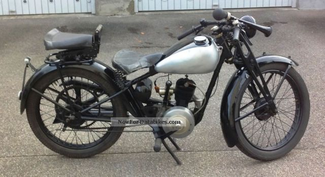 1932 DKW  KM 175 Motorcycle Tourer photo