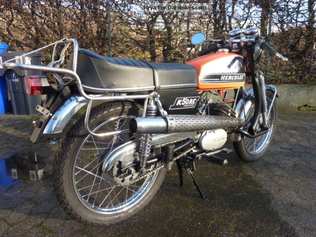 Hercules  K 50 RE 1974 Vintage, Classic and Old Bikes photo