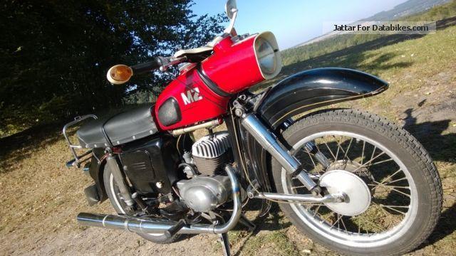 1970 Mz  ES 125 Trophy Sport Original GDR Motorcycle Lightweight Motorcycle/Motorbike photo
