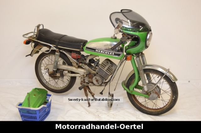 1975 hercules k 50 moped kkr ultra 50 rl. Black Bedroom Furniture Sets. Home Design Ideas