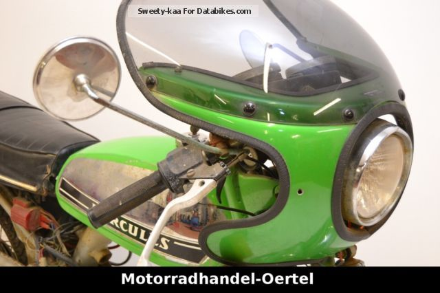 Hercules  K 50 moped KKR ULTRA 50 RL 1975 Vintage, Classic and Old Bikes photo