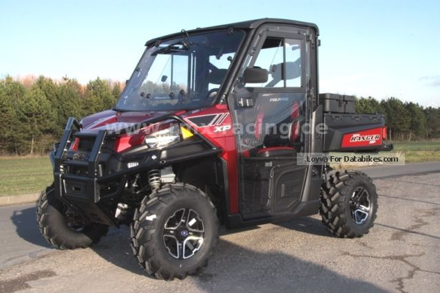 2012 Polaris  Ranger 900 XP including complete cabin! - NEW! Motorcycle Quad photo