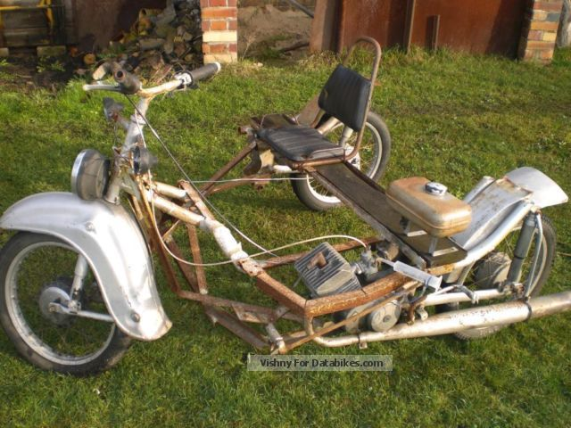 Simson  Homemade tricycle (Schwalbe/S51) 1970 Vintage, Classic and Old Bikes photo