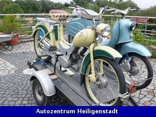 1963 Simson  SR2 rebuild Tiptop! Motorcycle Motor-assisted Bicycle/Small Moped photo