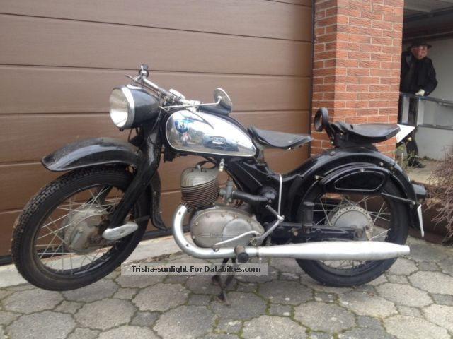 NSU  Lux 201 ZB/55 1955 Vintage, Classic and Old Bikes photo