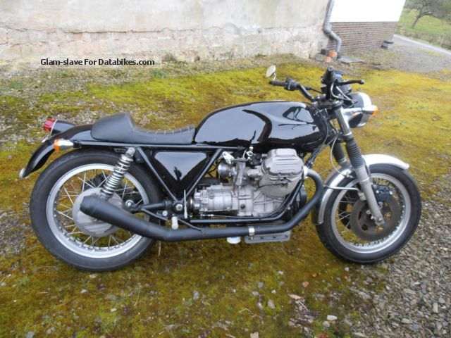 Moto Guzzi  850 T3 Cafe Racer 1976 Vintage, Classic and Old Bikes photo
