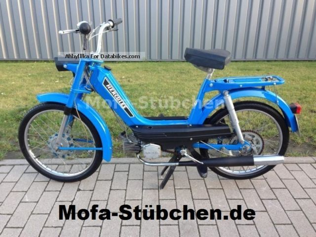 Hercules  M2 moped / 1.Hand / low km / TOP CONDITION 1973 Vintage, Classic and Old Bikes photo